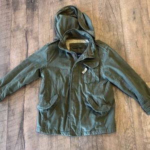 Gap utility jacket army green. Barely used.